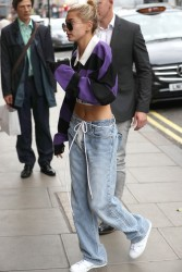 Hailey Baldwin - Out in London 9/18/17