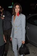 Nina Dobrev - Leaving Craig's in West Hollywood 7/13/17