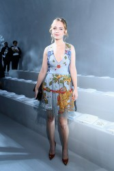 Britt Robertson -                     Christian Dior Show Paris September 26th 2017.