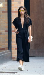 Sara Sampaio - Out in NYC 9/16/17
