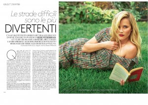 Reese Witherspoon -           Grazia Magazine (Italy) September 2017.