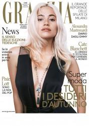 Pixie Lott -                   Grazia Magazine (Italy) September 2017.