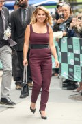 Candace Cameron Bure -           AOL Studios New York City September 18th 2017.