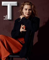 Amy Adams -                  T Magazine October 2017.