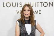 Julianne Moore -          	Louis Vuitton's Boutique Opening Paris October 2nd 2017.
