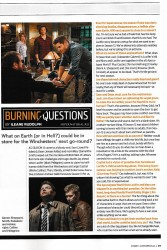 Эндрю Дабб о 13 ом сезоне журналу TV Guide