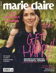 Winona Ryder -          Marie Claire Magazine (UK) November 2017.