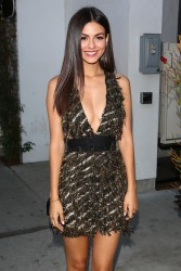 Victoria Justice - Harper's Bazaar in West Hollywood 8/22/17