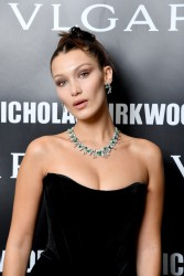 Bella Hadid -                  Bvlgari Celebrates ''Serpenti Forever'' By Nicholas Kirkwood Milan September 20th 2017.