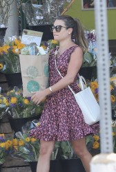 Lea Michele - Shopping at Whole Foods in Brentwood 7/10/17