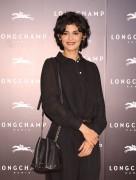 Audrey Tautou -                     Longchamp La Maison Omotesando Store Opening Tokyo October 19th 2017.