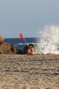 Kara Del Toro - Bikini candids in Malibu 8/21/17