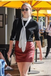 Kate Upton - Out for lunch in Beverly Hills 9/27/17