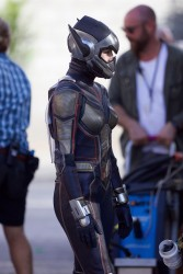 Evangeline Lilly -              ''Ant-Man And The Wasp'' Set Atlanta September 20th 2017.