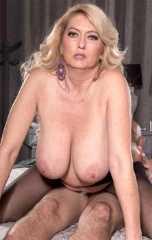 The Big-Titted MILF Takes On A Big Cock 1080p Cover