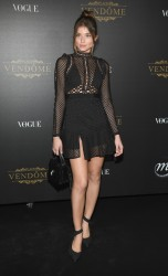 Daniela Lopez Osorio - Vogue Party in Paris 10/1/17