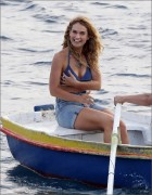 Lily James - Filming 'Mama Mia!' Sequel 9/12/17