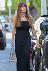 Sofia Vergara - Out for lunch in West Hollywood 7/13/17