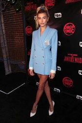 Hailey Baldwin -                  BS' Drop the Mic and The Joker's Wild Premiere Party Hollywood October 11th 2017.