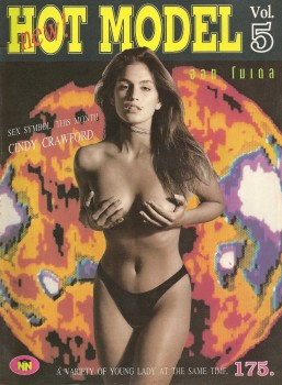 Cindy Crawford: Topless On A Foreign Mag Cover: HQ x 1