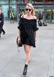 Margot Robbie - At Heathrow Airport 9/18/17