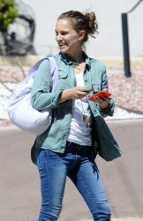 Natalie Portman - Out in Silver Lake, CA 9/27/17