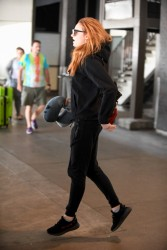 Sophie Turner - Spotted at LAX Airport - July 20, 2017