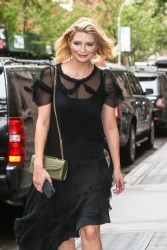 Mischa Barton - Leaving The View in NYC 7/13/17