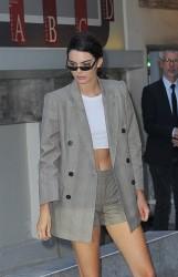 Kendall Jenner - Leaving the Fendi Fashion Show in Paris 7/5/17