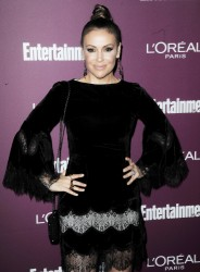 Alyssa Milano - Entertainment Weekly Pre-Emmy Party in West Hollywood 9/15/17