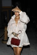 Rihanna - Out for dinner in Santa Monica 7/12/17