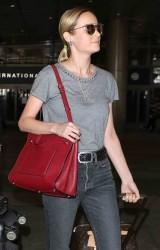 Brie Larson - At LAX Airportt 7/7/17