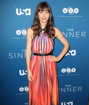 Jessica Biel The Sinner Premiere in NY 7/31/2017