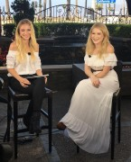 Renee Olstead - Cheddar TV Interview Video Caps 10/11/2017