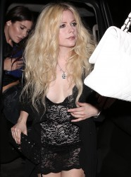 Avril Lavigne - At TAO in West Hollywood 9/27/17