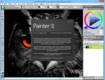Corel Painter 2018 18.1.0.621 (x64) Multi/Eng + Rus/Ukr