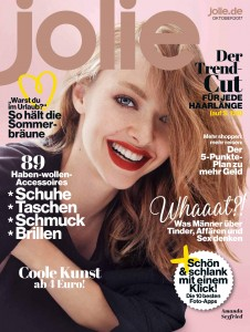 Amanda Seyfried -                 Jolie Magazine (Germany) October 2017.