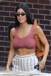 Kourtney Kardashian - Out in Studio City 8/24/17