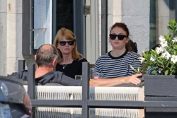 Sophie Turner - Has brunch with her parents in Montreal - September 24, 2017