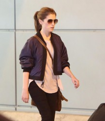 Anna Kendrick - Arriving in Toronto 8/21/17