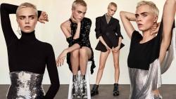 Cara Delevingne, Evangeline Lilly, Jaimie Alexander, Kirsten Dunst, Kristen Stewart (Wallpapers) 6x