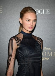 Romee Strijd - Vogue Party in Paris 10/1/17