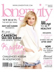 Kirsten Dunst -            Longevity Magazine October/November 2017.