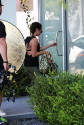 Ashley Tisdale on the set of a photoshoot in Los Angeles - 8/30/17