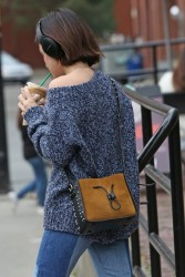 Lucy Hale - At Starbucks in Vancouver 9/17/17