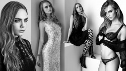 Cara Delevingne, Diane Kruger, Kate Mara, Laura Vandervoort, Sophie Turner (Wallpapers) 6x