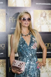 Paris Hilton - At Africana Club in Amalfi Coast 8/18/17