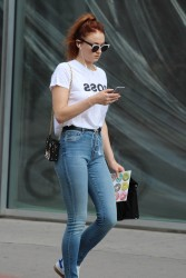 Sophie Turner - Out and about in Montreal - July 15, 2017