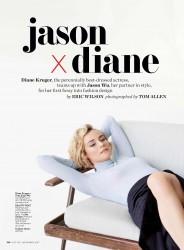 Diane Kruger -          InStyle Magazine November 2017.